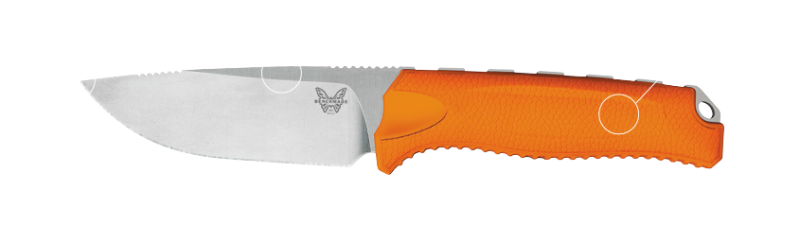 The Benchmade Steep Country knife. Image courtesy Benchmade.