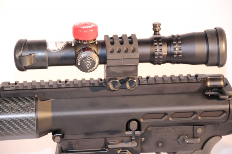 The Lancer SRSM is a heavy-duty, one-piece solution for mounting optics.