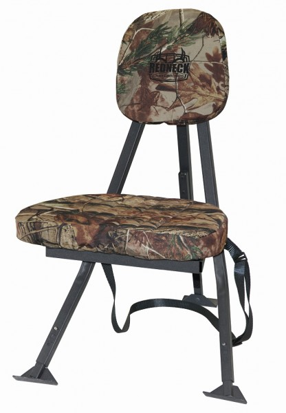 The Redneck Portable Hunting Chair. Image courtesy Redneck Blinds.