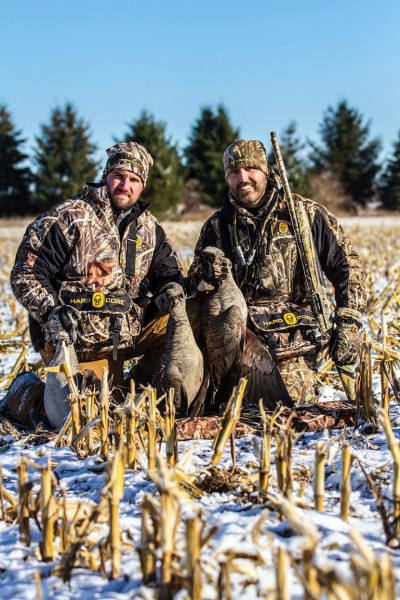 Those first snows that stick usually hit the Great Lake State in November, along with some mighty chilly temps. Dressing in layers and staying warm will reward hunters with more enjoyable hunts. Image by Scott Roduner.