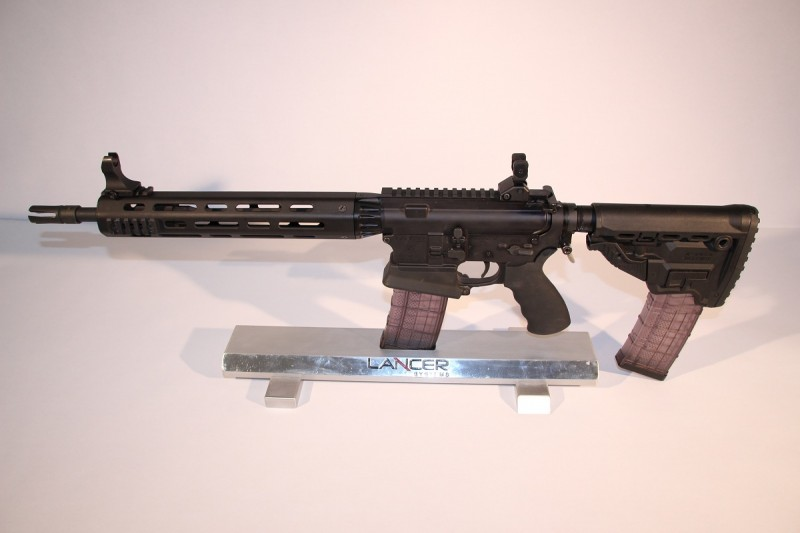 The Lancer L15 Professional Patrol Rifle.