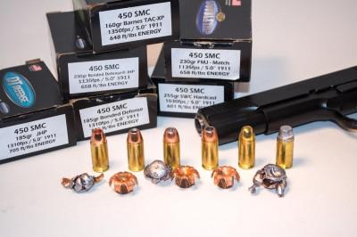 Doubletap Ammunition resurrected the 450 SMC cartridge.