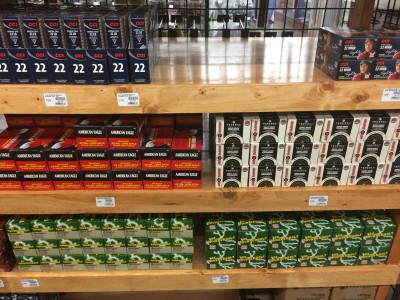 .22LR ammo is starting to reappear on the shelves.