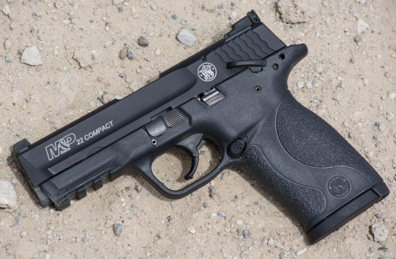 Smith & Wesson's new M&P 22 Compact.