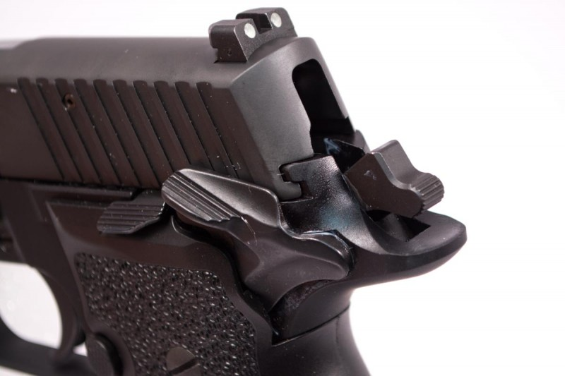 In 2014, Sig Sauer introduced a single-action honey--the P226 Elite SAO.