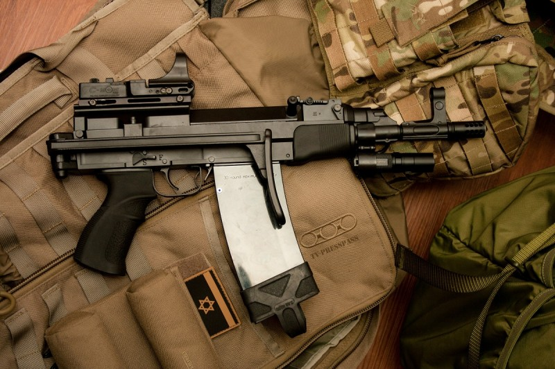 A compact version of the vz. 58 chambered in 5.56. Image by Edward Osborne.