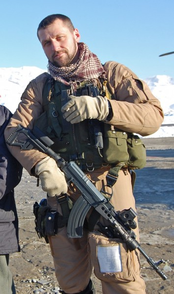The vz. 58 in use in by Czech forces in Afghanistan. Image courtesy of Jeff Hussey.