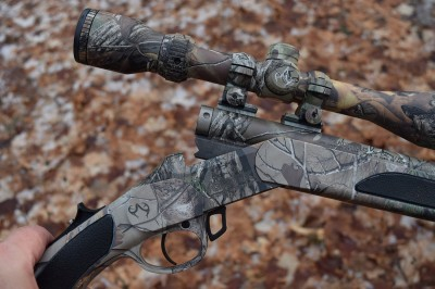 The author chose a Traditions Vortek StrikerFire rifle for this season. It is light, accurate, and reliable, making it perfect for everything the Great Lake State can dish out in December.