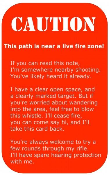 Shooting-Warning