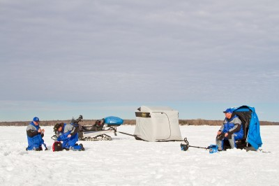 Ice fishing for first-ice walleyes is not the boring, stationary affair that some people make it out to be. Using a mobile approach and drilling lots of holes while looking for signs of life will put more fish on the ice and more filets in your frying pan.
