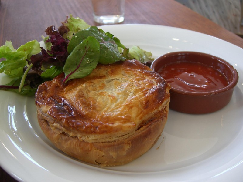 You can alter just about any meat pie recipe into a humble deer pie instead. Image courtesy Alpha on flickr Creative Commons.