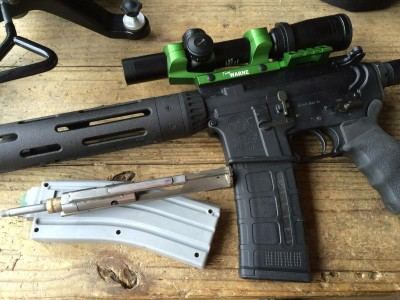 I tried the 22AR Conversion in two different Smith & Wesson ARs.