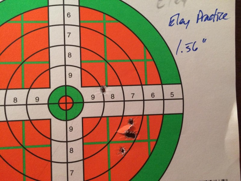 Accuracy was surprisingly good—if you pick the right ammo.
