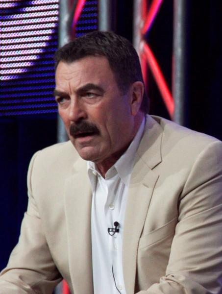 Gun rights supporter and firearms collector Tom Selleck is also serious about his hunting. Image from Bede735c on the Wikimedia Commons.