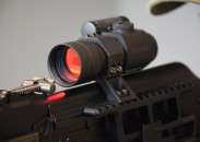 The new Aimpoint ACO red dot sight in an RS Regulate mount attached to an SGL31. Image by Matt Keeler.
