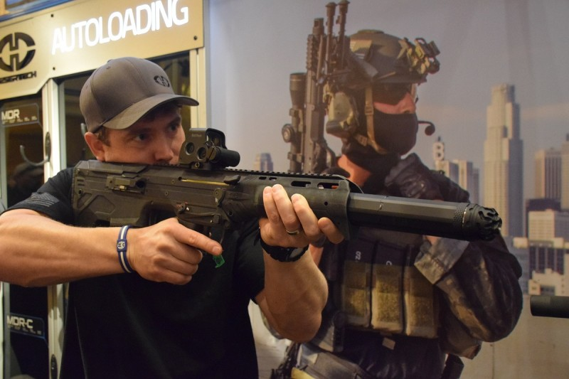 The .308 MDR with OSS suppressor.