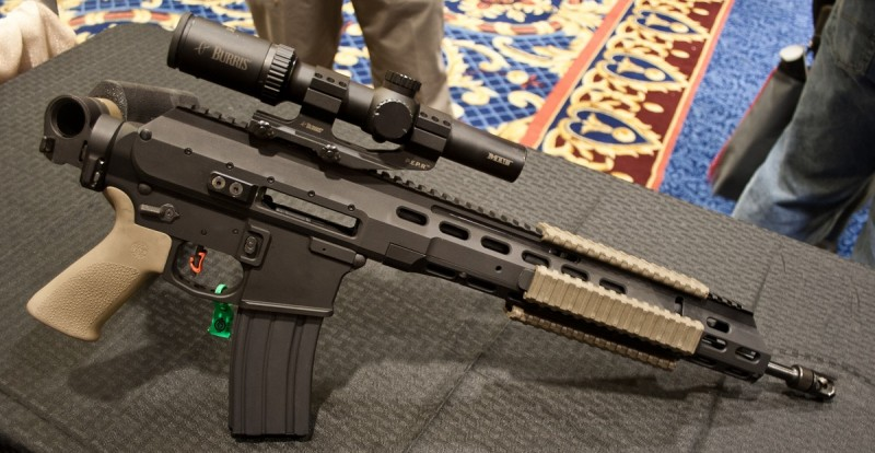 Since ARAK uppers do not require the use of a buffer tube, a shooter can attach a folding stock to their AR.