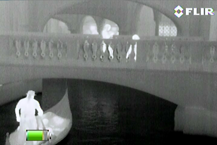Another thermal capture of the Venetian using the Scout II.