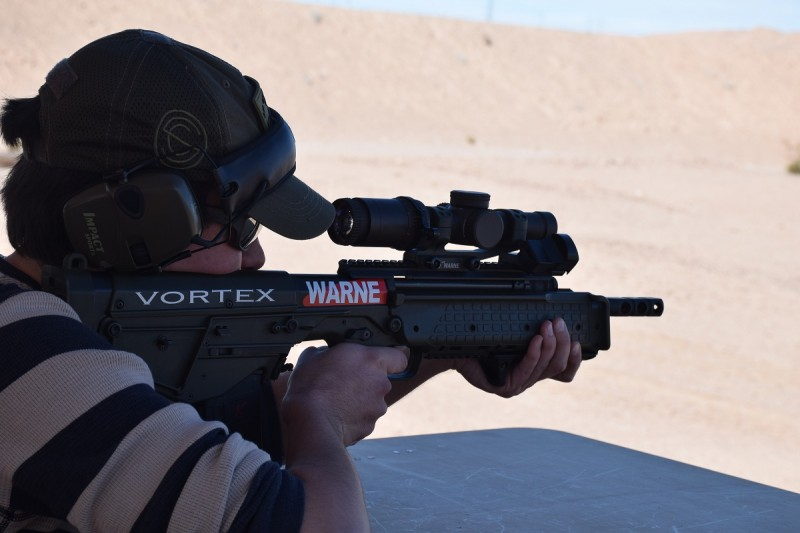 The Kel-Tec RDB in action on Media Day. Image by Colin Anthony.