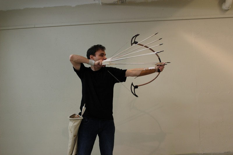 """""""People have a perception of historic war archery, but their perception is completely wrong,"""" says Lars."""
