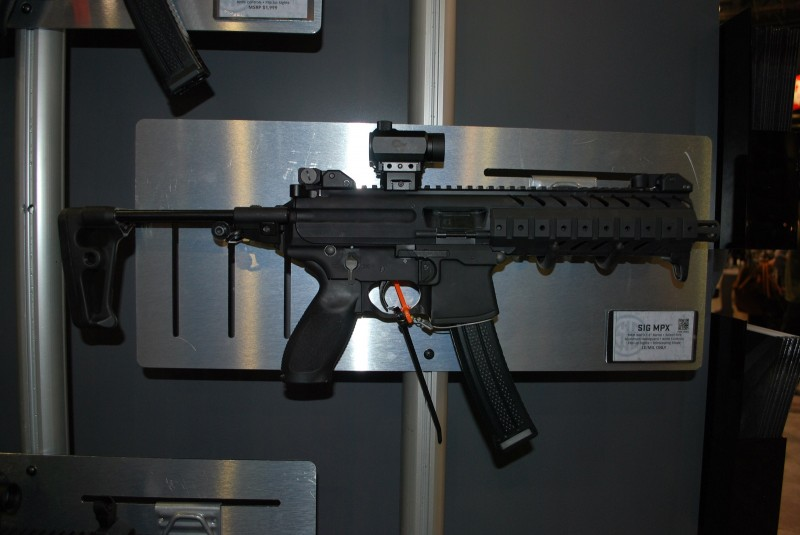 The Sig Sauer MPX. Image by Matt Korovesis.