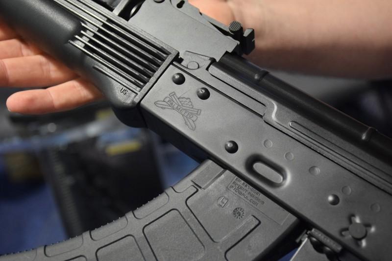 The PSA rollmark on their AK's receiver.