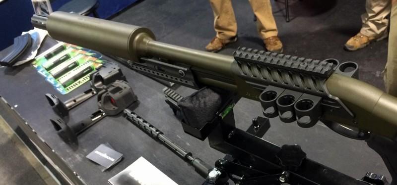 A pregnant shotgun? Not exactly...