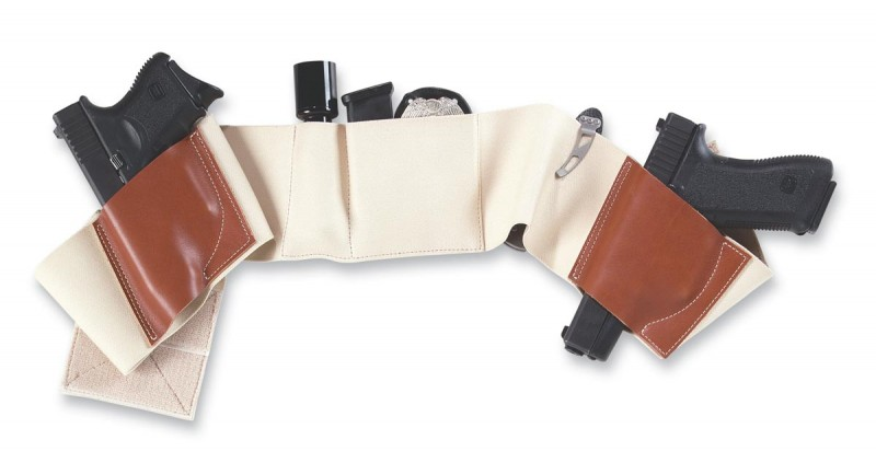 Is a belly band holster like this Galco Underwraps the most flexible non-traditional method?