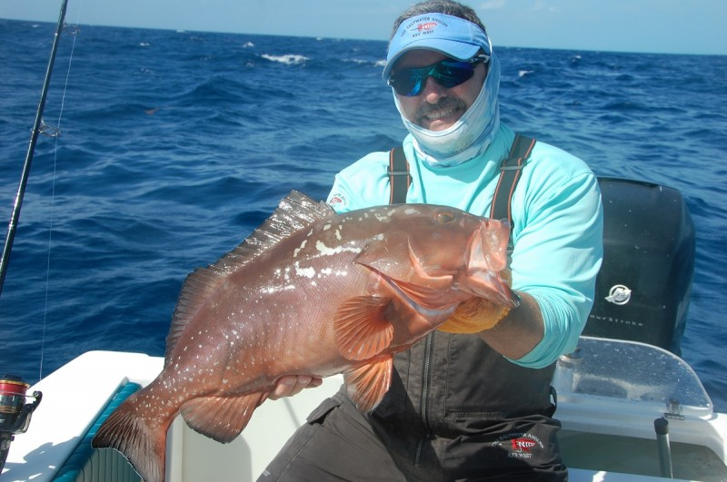 Red grouper are great table fare. Be sure to check season dates and size restrictions.