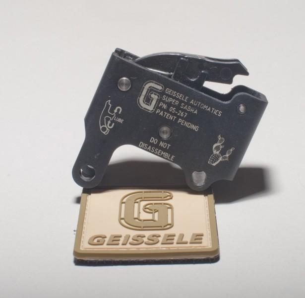 The Geissele Super Sabra Tavor trigger pack.