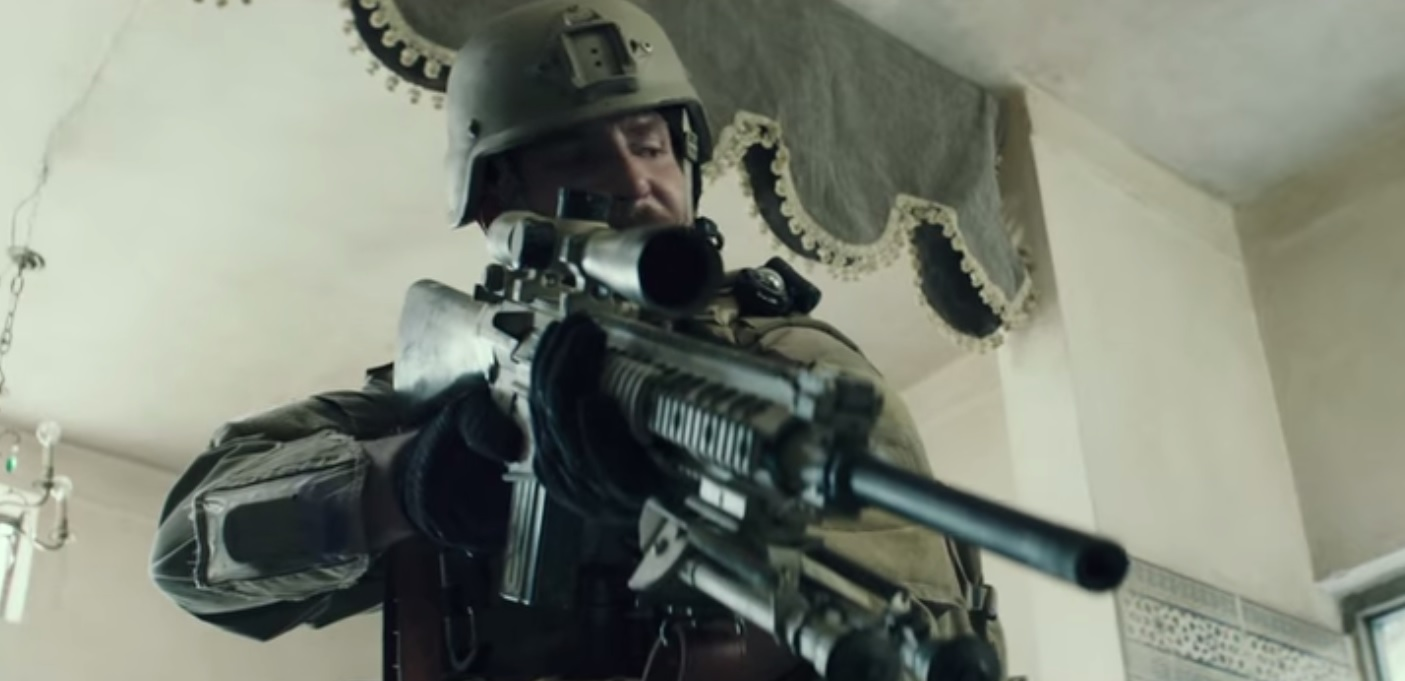 Knights Armament SR 25 Gun7
