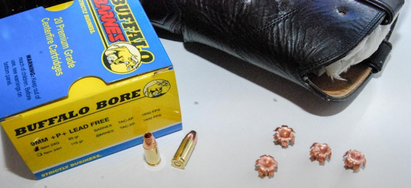 I have yet to find a 9mm load using the Barnes TAC-XP bullets that doesn't perform well.