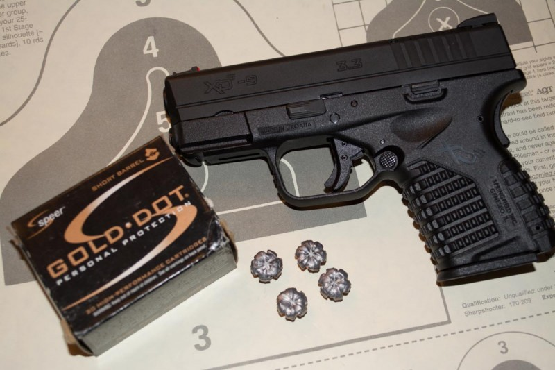 Speer's Short Barrel line is designed specifically for guns with 3.5-inch or shorter barrels.