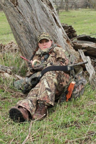 "The ""First Lady of Hunting"" likes options. Brenda Valentine doesn't have just one favorite call, and carries an arsenal of calls into the field. Image courtesy Brenda Valentine."