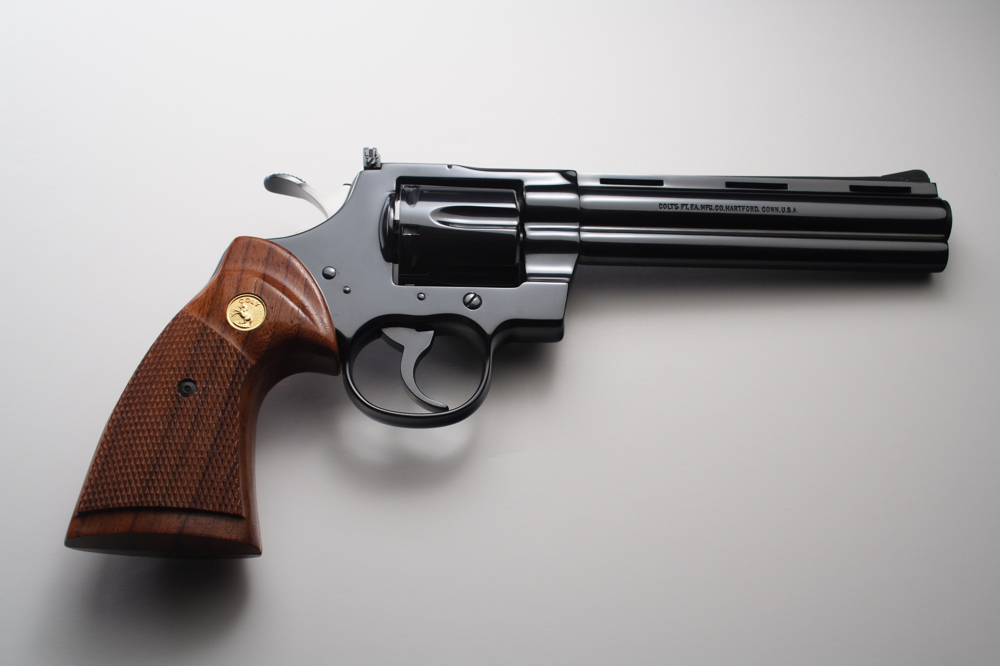 Want to buy a used gun (like this gorgeous Colt Python) but don't know how? Read our 5-step list.