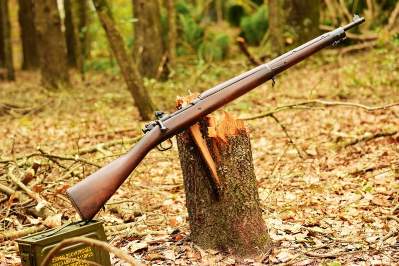 A Remington M1903A3 manufactured in 1943. Image by Jim Grant.