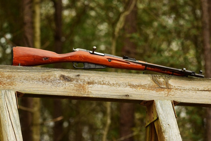 A 1945-dated M44 Mosin-Nagant carbine made at the Izhevsk factory. Image by Jim Grant.