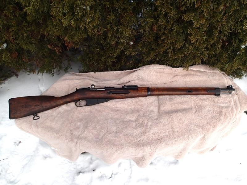 The author's Finnish m/27 rifle, a slightly rarer Finnish Mosin variant. Image by Matt Korovesis.