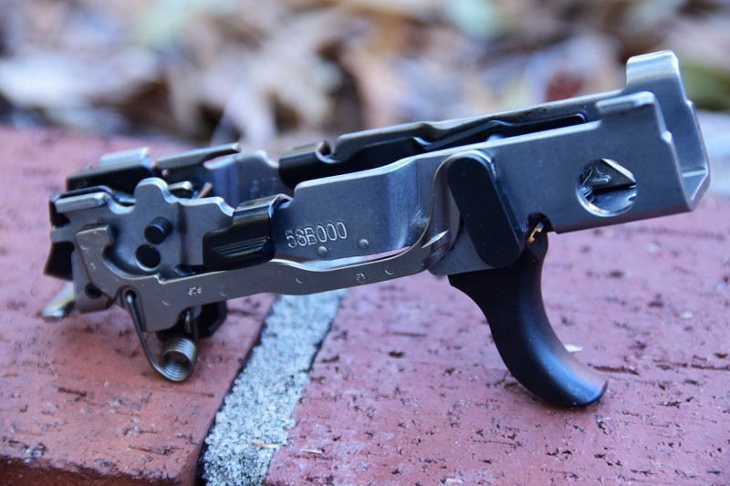 """The serialized fire-control unit is the official """"gun"""" part of the P320. You can swap barrels and frames at will without having to deal with an FFL transfer."""