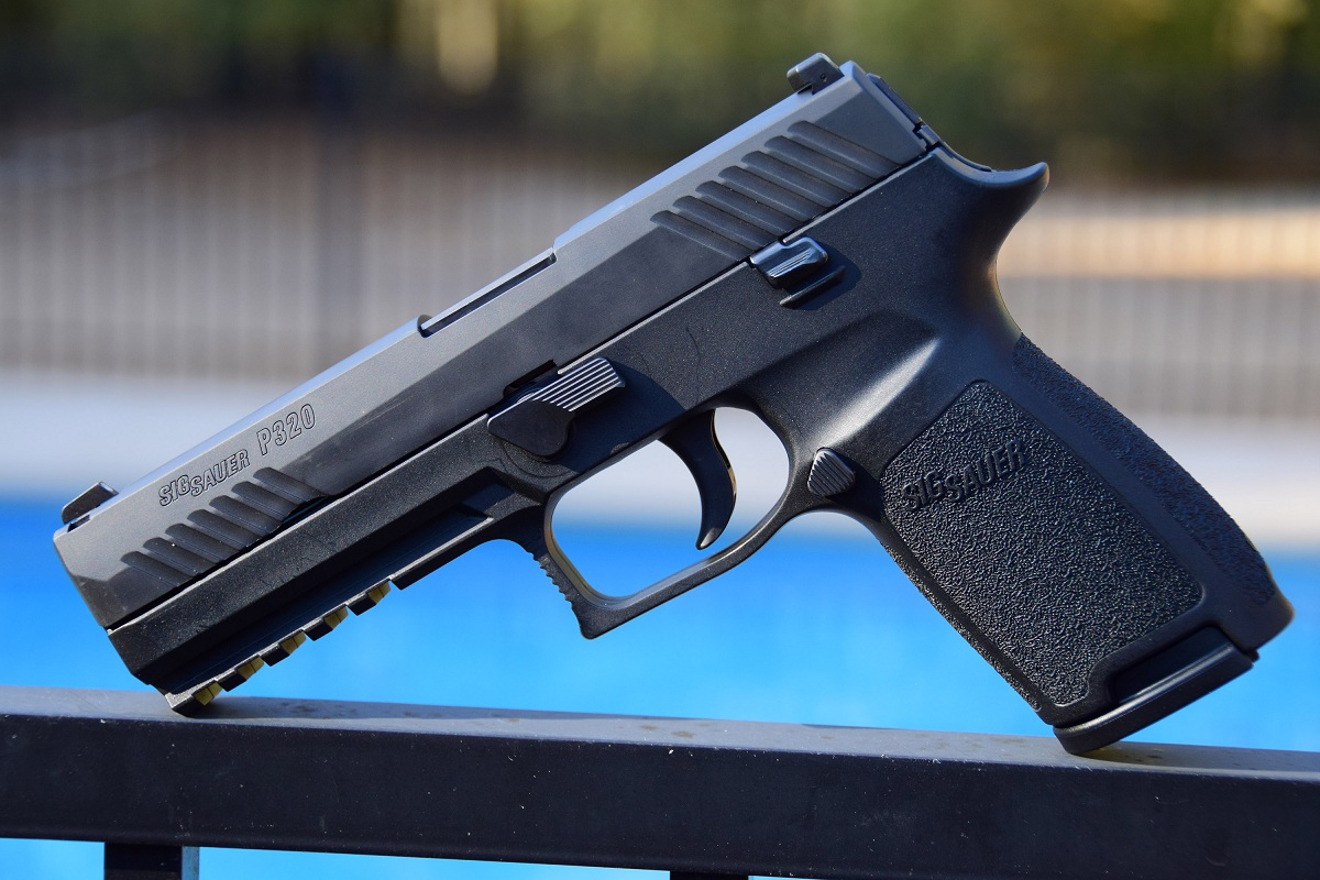 Adaptive Striker Fired Greatness Sig P320 Pistol on p 250