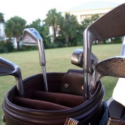 An Arizona man wanted some new drivers, but got a shooting iron as well.