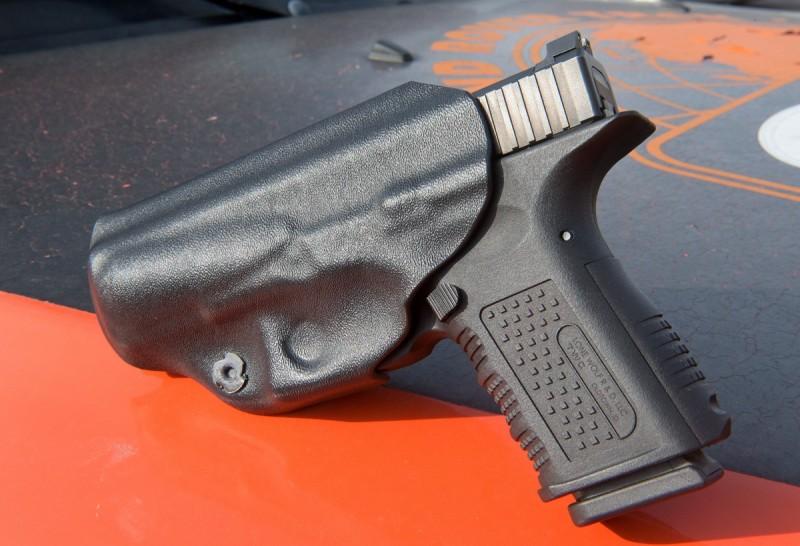 The JM Custom AIWB holster.