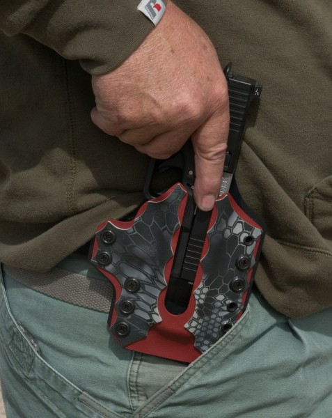 Both of the holsters tested were impressive and useful in their own ways.