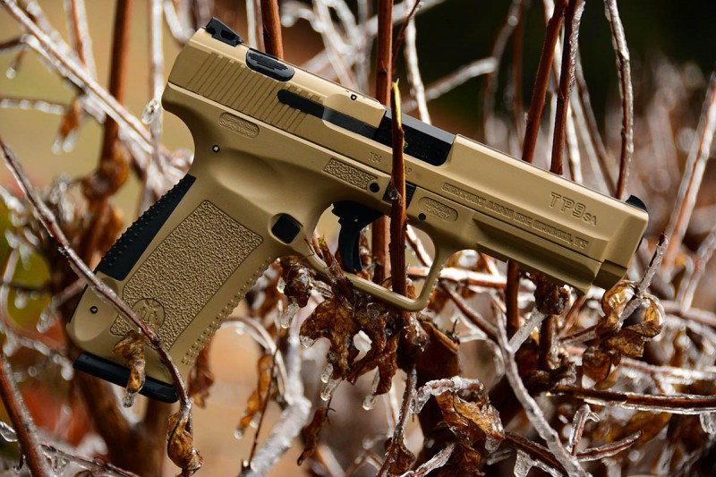 Two-inch shot groups at 15 yards seemed to be the norm for the TP9SA,.