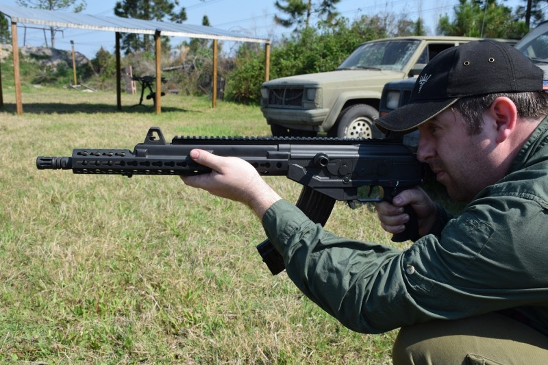 One of the few drawbacks of the Galil ACE is its short handguard. The RS Regulate GAR addresses that problem and then some.