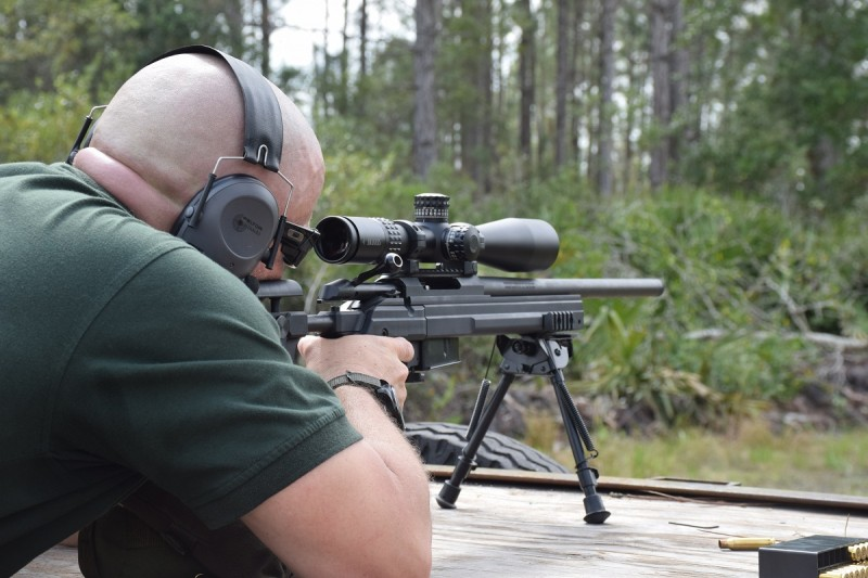 The XTR IIs with the SCR reticle made long-distance shooting easy.