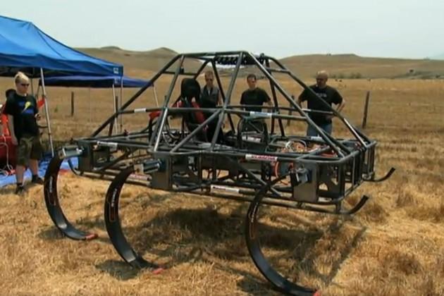 Do you dare riding this prototype six-legged ATV?