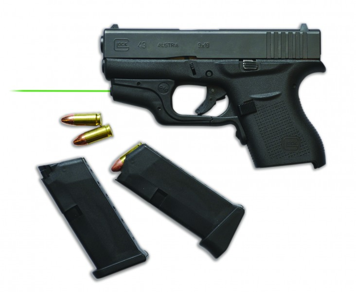 The Crimson Trace Laserguard for Glock 43