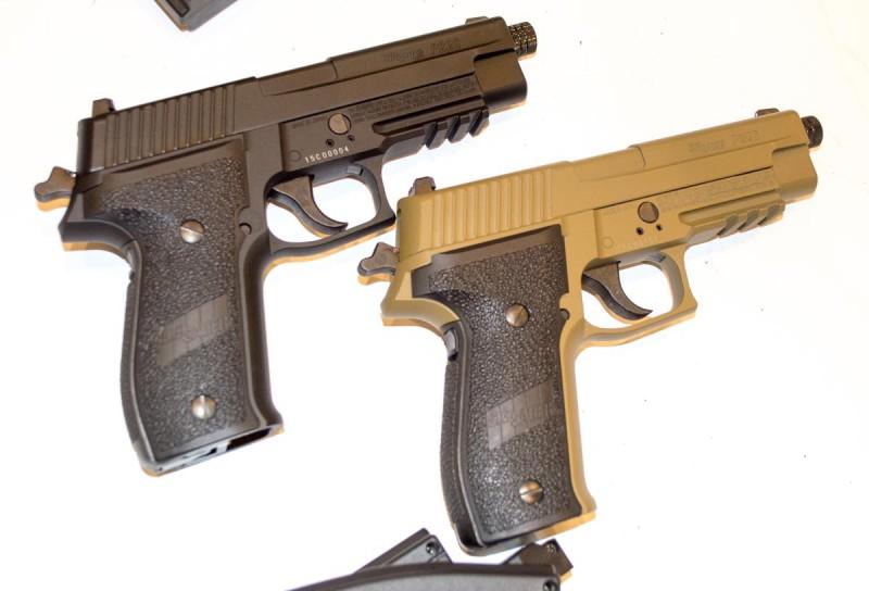 A pair of air-powered P226s.