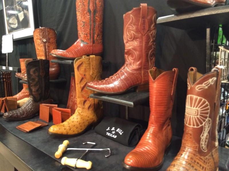 J.B. Hill custom boots
